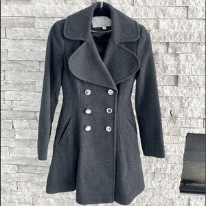 Jessica Simpson Wool Double Breasted Peacoat